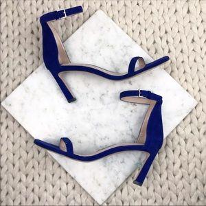 Stuart Weitzman Cobalt Blue The 75Square Heels